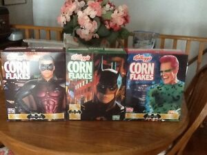 Kellogg's Batman Forever Cereal Boxes