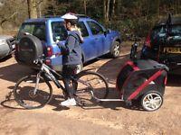 Bike trailer for your dog