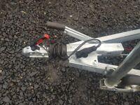 BRAND NEW MODEL 10 X 5 MASTER TWIN AXLE HEAVY DUTY TRAILER WITH 60CM MESH 2700KG
