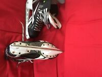 Reebok Ice hockey size 6 skates with ankle pumps