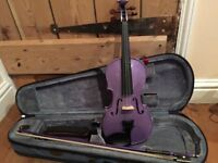 Stentor 1/2 purple violin