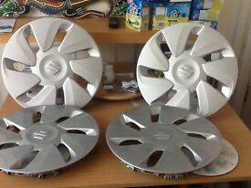 Set of Suzuki wheel trims