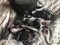 Sony Alpha 200a DSLR Camera