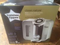 Tommee Tippee perfect prep machine ....never been opened or used seal is still on box