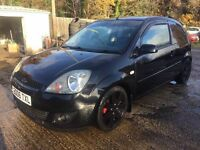 ** NEWTON CARS ** 06 FORD FIESTA 1.4 GHIA, 3 DOOR, S/H, COILOVERS, TINTS, LEATHER, MOT AUG 2017