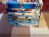 Bundle of 12 kids dvds