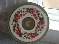Old collectable cake etc large platter