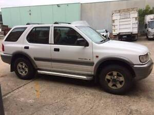 2001 Holden Frontera Wagon 3.2 5 spd manual it has 3 months  rego Belmore Canterbury Area Preview