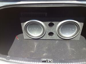 Rockford Fostgate Subs and Amp