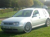 Volkswagen Golf 1.4s R32 alloys 5dr Sunroof 12months mot Good condition Good runner