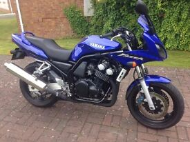 Yamaha Fzs 600 Foxeye Fazer. V.G.C. F.S.H. , 11 months M.O.T. no advisories, 2 previous owners