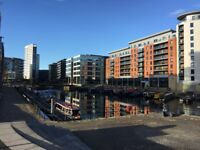 1 Bed Penthouse, river and dock views