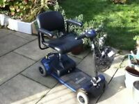 PRIDE GO GO ELITE TRAVELLER FITS IN BOOT OF CAR MOBILITY SCOOTER