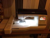 New brother embroidery NV800E machine