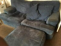 3 seater 1 seater sofa sofas and pouffe stool