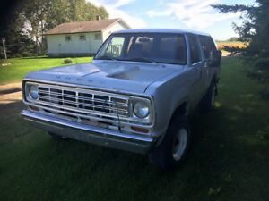 Rare Classic 1978 Dodge Ramcharger