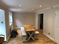 Wood and Laminate Flooring -Decorating -Bathroom and kitchens general refurbishment