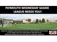 Plymouth 6aside League - Teams Wanted