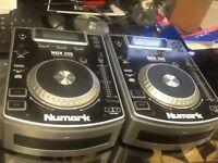 Numark NDX200 CD decks