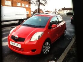 Toyota Yaris 1000 cc 2006, one lady owner s history,