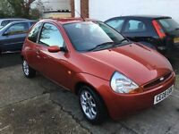 Ford KA Zetec only 52k brand new mot freshly serviced stunning condition