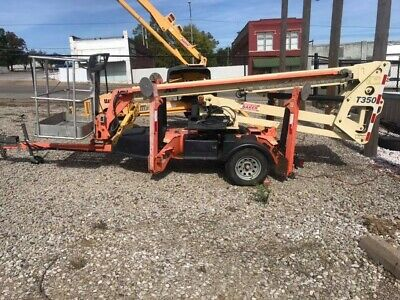 Jlg T350 2010 35ft Towable Boom Lift362 Hours