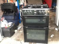 Gas hob/ electric fan oven