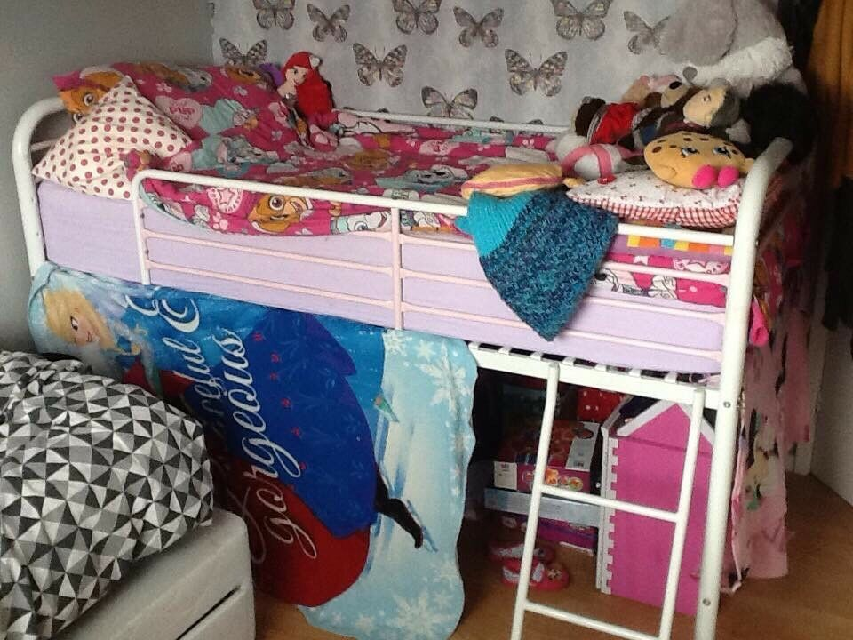 Next mid sleeper bed