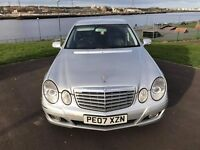 2007 Mercedes Benz E Class//FULL MOT//6 MONTHS WARRANTY