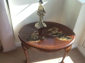 Oriental occasional table
