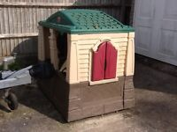 American made all weather cast plastic Wendy House.