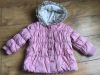Girls Next Winter Coat Age 1.5- 2 Years