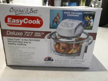 EASY COOK DELUXE 727 TURBO COMPACT HEALTH OVEN