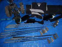 Dunlop Equation golf clubs 11 clubs & Dunlop bag