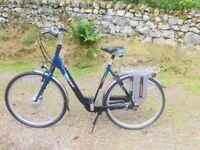Electric Pedal Assist Bike
