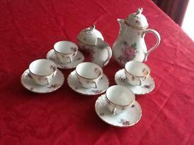 'Dresden' Coffee set