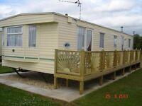 8 berth caravan on Golden Palm,Chapel St Leonards to rent
