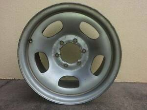 Toyota Land Cruiser 80 series steel rim. Mount Sheridan Cairns City Preview