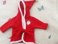 Baby Santa top 3-6 month