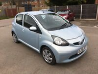 2005 [55] TOYOTA AYGO 1.0 5 DOORS NEW MOT £20 TAX