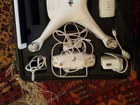 Phantom 4 Drone and Travel Case
