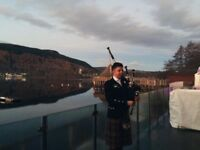 Experienced quality bagpiper for hire for weddings, parties, dinners and any other functions.