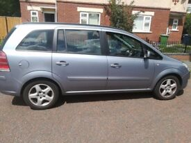 2010 VAUXHALL ZAFIRA 1.9. MILEAGE 79,000. 9 MONTHS MOT!! VERY CHEAP AND RELIABLE!
