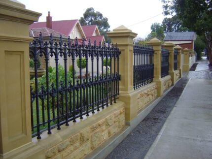 Pre- cast Pier & InFill Feature Sandstone Fencing Morley Bayswater Area Preview