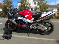 Honda fire blade motorbike