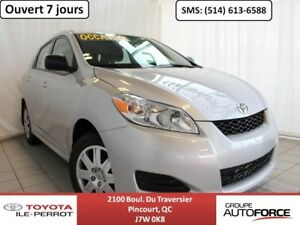 2014 Toyota Matrix GRP COMMODITÉ, A/C, CRUISE, BLUETOOTH LOW MIL