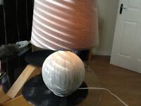 John Lewis. Ebony Lamp for Sale in Grey £23 ,,,,,,,,,, , ,
