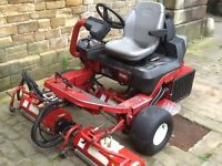 Toro GM3200D Tees Greens Triple Mower With 6 Units & Green-Tek Vibration Rollers