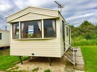 Cheap 2 bedroom static caravan holiday home for sale on the East Lincolnshire coast near cleethorpes