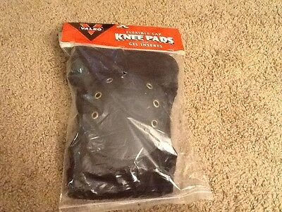 Valeo flexible cap knee pads with gel inserts new in package